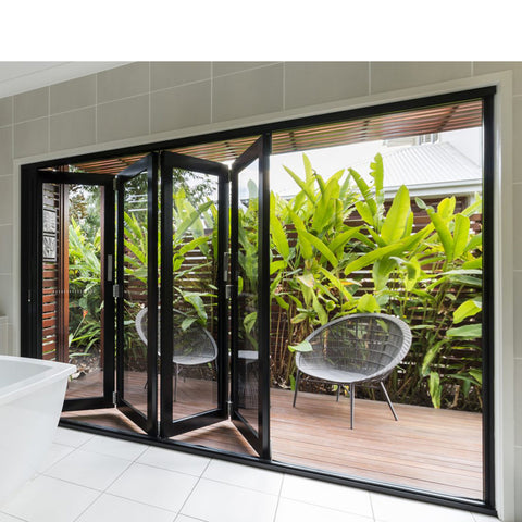 China WDMA Mosquito Net Doors Folding
