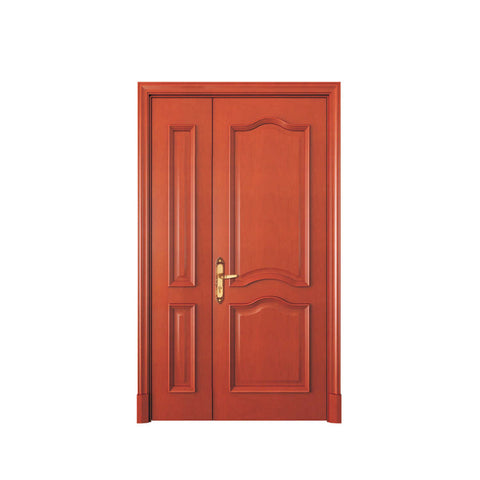 China WDMA simple design wood door Wooden doors