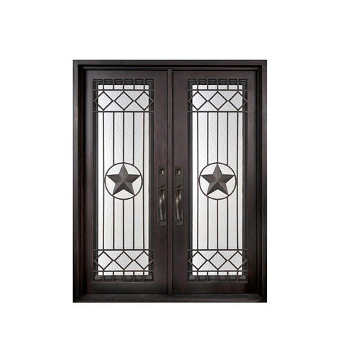China WDMA Simple Iron Grill Window Door Designs