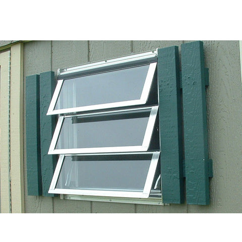WDMA Sound Proof Aluminum Window Louver Awning Prices