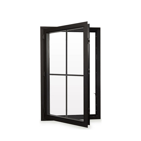 WDMA Sound Proof Doors And Windows Aluminium Guangdong Double Tempered Glass Aluminum Windows