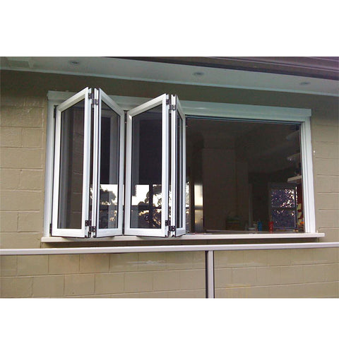 China WDMA folding balcony window Aluminum Folding Window
