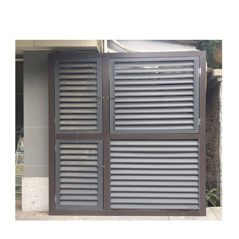 China WDMA standard jalousie window sizes Aluminum louver Window