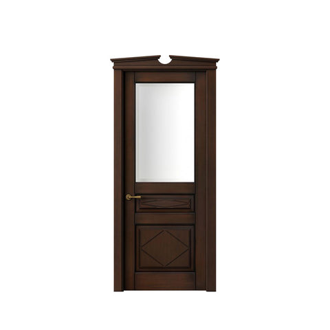 China WDMA french door Wooden doors