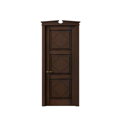 China WDMA Teak wood door Wooden doors