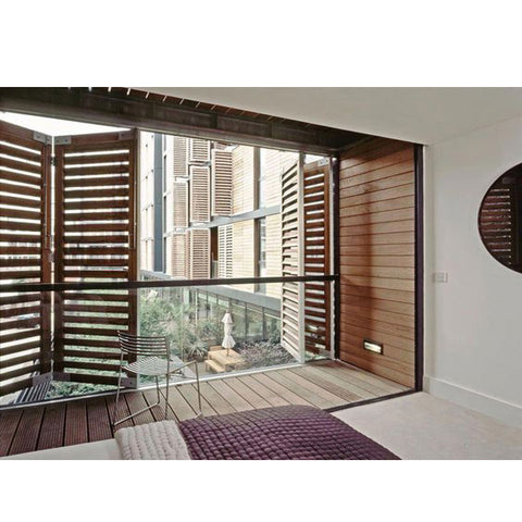 China WDMA Louvered Window
