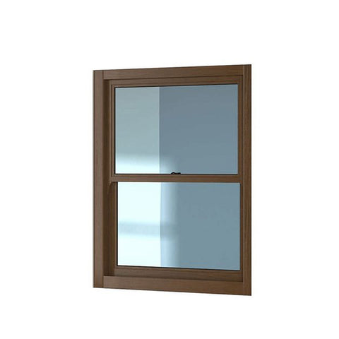 China WDMA top hung sliding window Aluminum double single hung Window