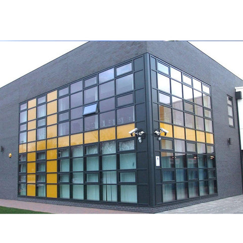 WDMA Types Of Metal Steel Structure Glass Curtain Wall Window Wall Systems