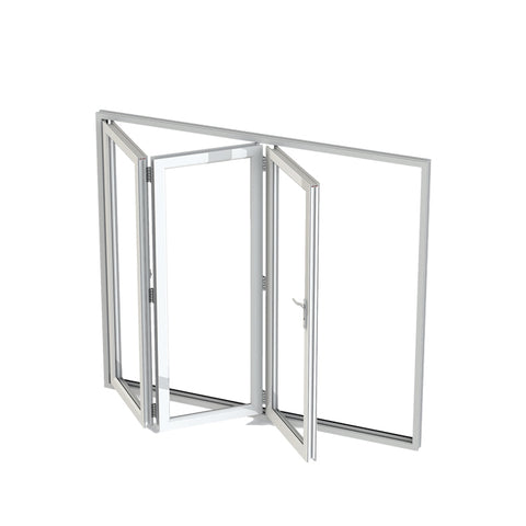 China WDMA corner window Aluminum Folding Window