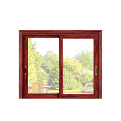 China WDMA aluminium glass bedroom sliding window Aluminum Sliding Window