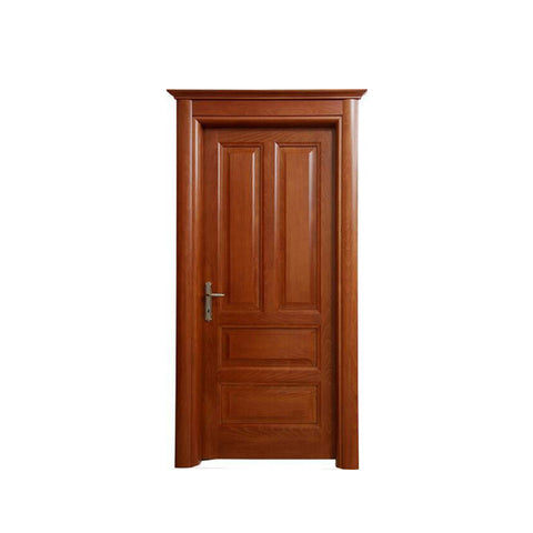 WDMA Wooden Main Door Designs Single Door For Homeuse