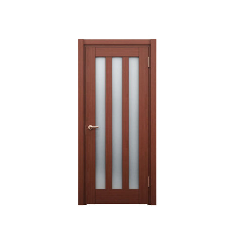 China WDMA Wooden Main Door Design Pictures