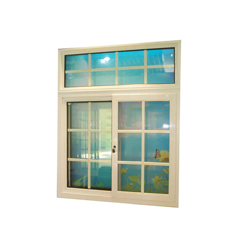 WDMA Wooden Sliding Window Grill Design For Sales