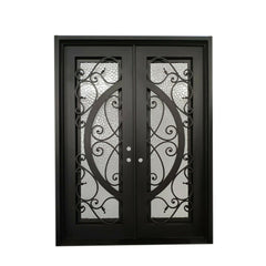 WDMA wrought iron entry door Steel Door Wrought Iron Door