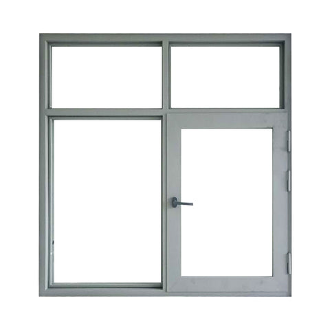 white frame aluminum casement alloy window on China WDMA