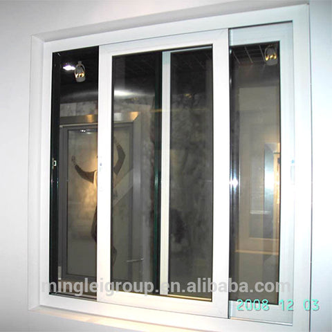wholesale interior glass window cost of tilt sliding white windows on China WDMA