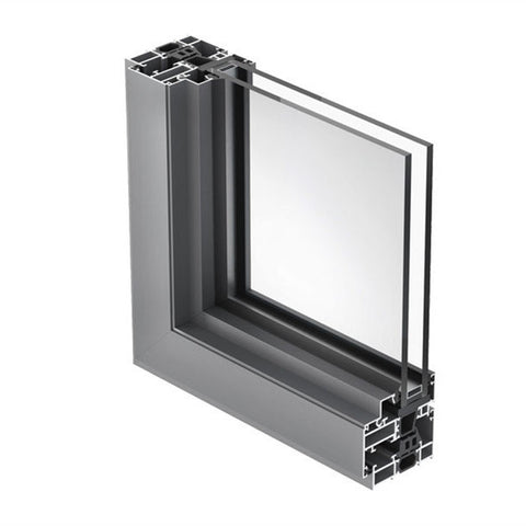 window and door standard aluminum extrusion for double glass aluminum window frame on China WDMA