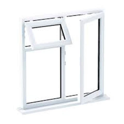 window with fixed panel roller for aluminium tilt and turn window on China WDMA