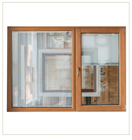 wood faux door design 44'x3'glass aluminum kerala window frame wood paint blinds for windows