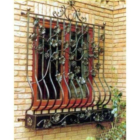 wrought iron windows on China WDMA