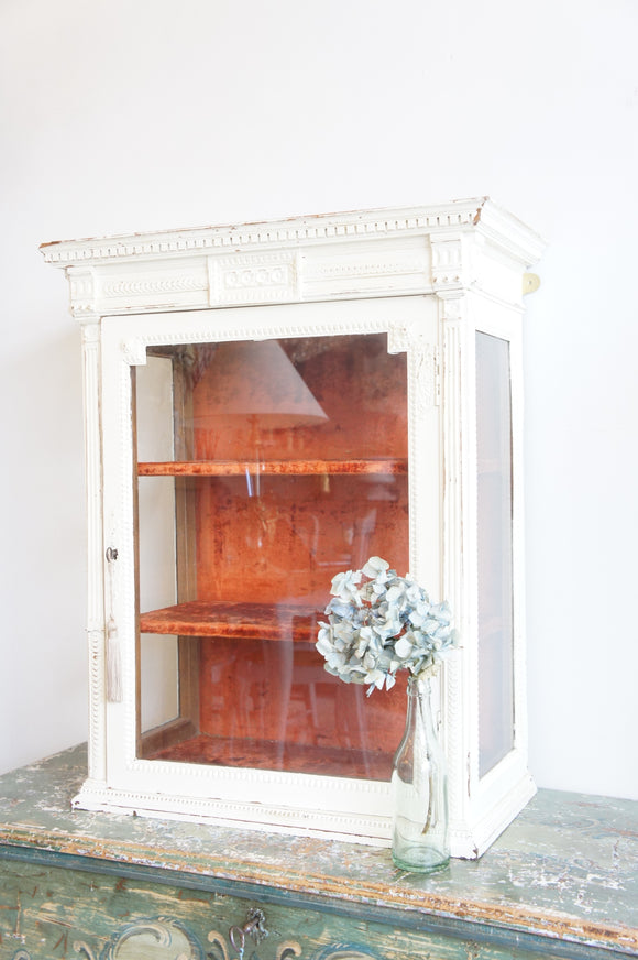 Antique French display cabinet/vitrine
