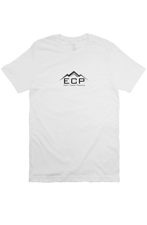 Men's front logo white shirt