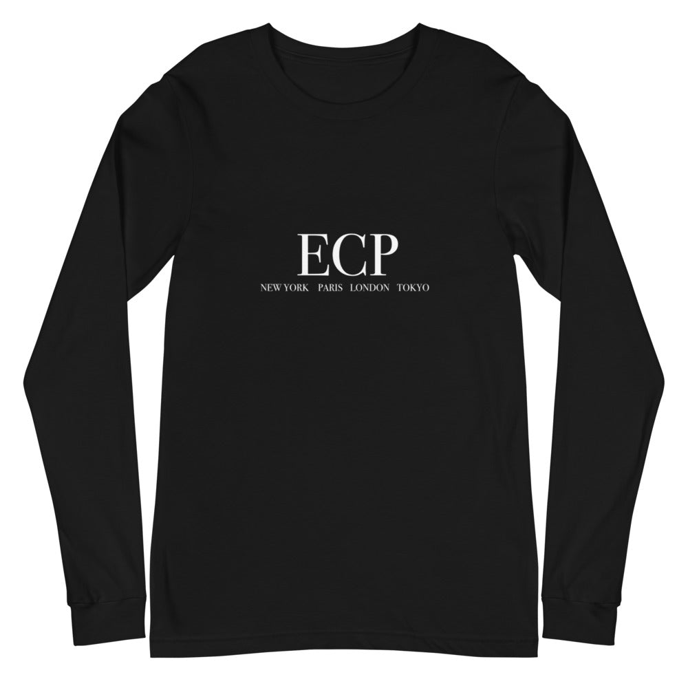 Women's long Sleeve ECP motif shirt