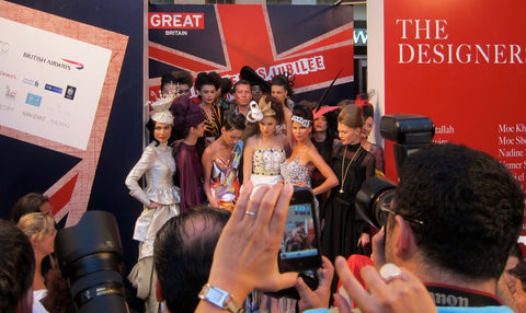Jubilee Fashion Show in Beirut X British Embassy