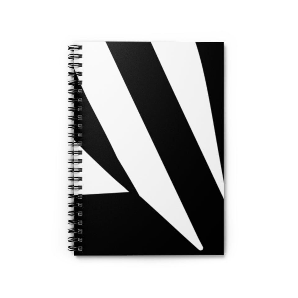 Retro Spiral Notebook - Ruled Line