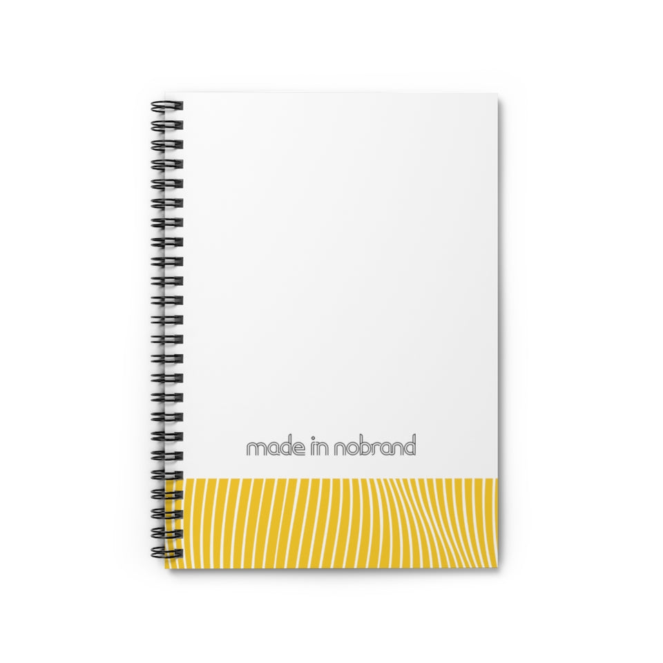 Made In Nobrand Spiral Notebook - Canary