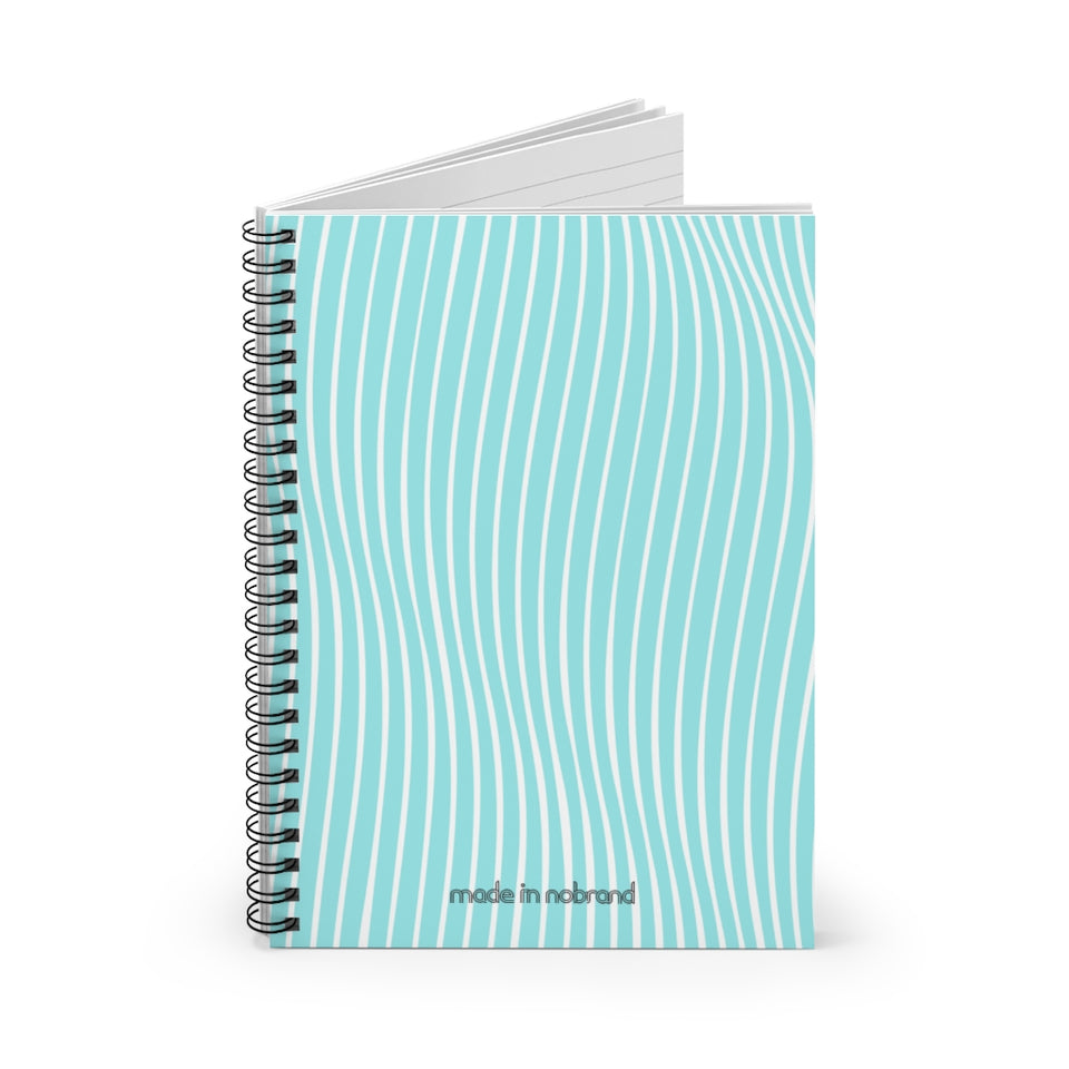 Made In Nobrand Spiral Notebook - teal