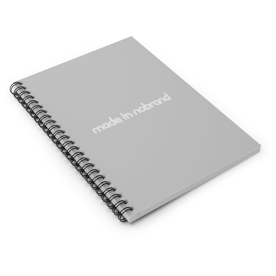 Made In Nobrand Spiral Notebook - Ruled Line
