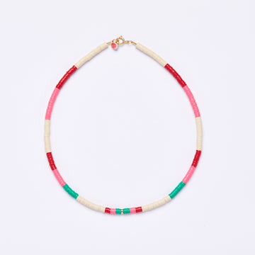 Surfer Necklace, various colors  -medium