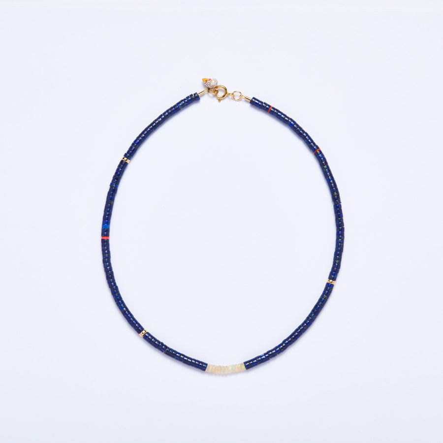 Lapis Lazuli and Opal Necklace
