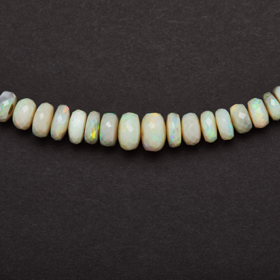 Australian Opal Necklace ( Blue-Green-Grey)