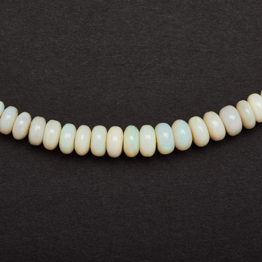 Australian Opal Necklace (white)