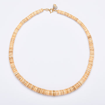 Shell and Diamond Gold Necklace (3 colors)