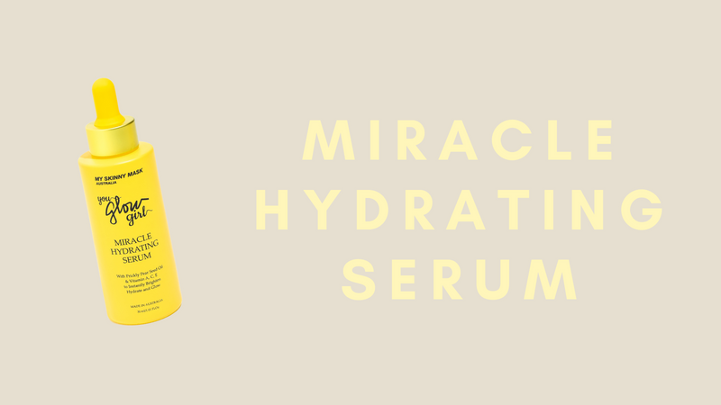 Introducing our Miracle Hydrating Serum!