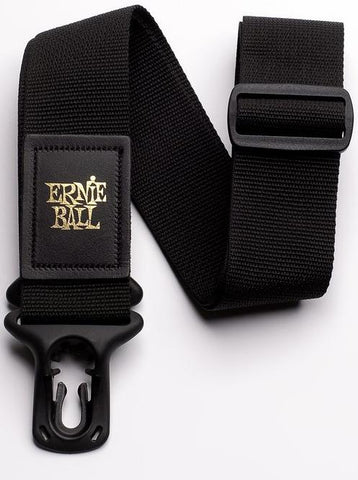Ernie Ball 4056 Poly Lock Guitar or Bass Strap Black