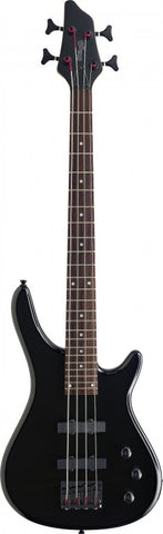 Stagg BC300 3/4 Size Electric Bass Guitar, Black