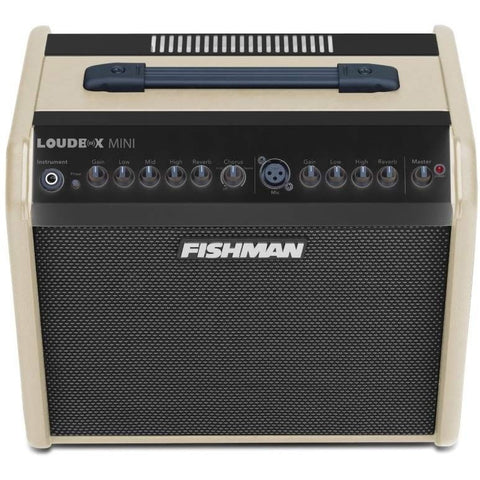 Fishman Loudbox Mini Bluetooth Acoustic Combo Amplifier Cream