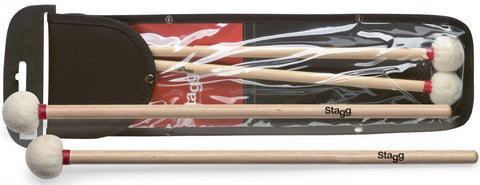 Stagg Timpani Maple Mallets, 1.4