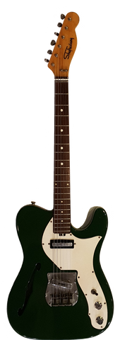 Shaftesbury 3412 Thinline Tele British Racing Green Pre-owned
