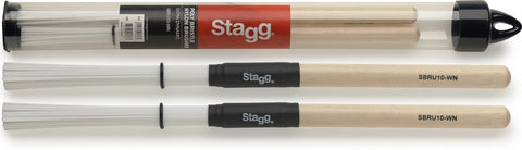 Stagg Nylon Brushes Wooden Handle