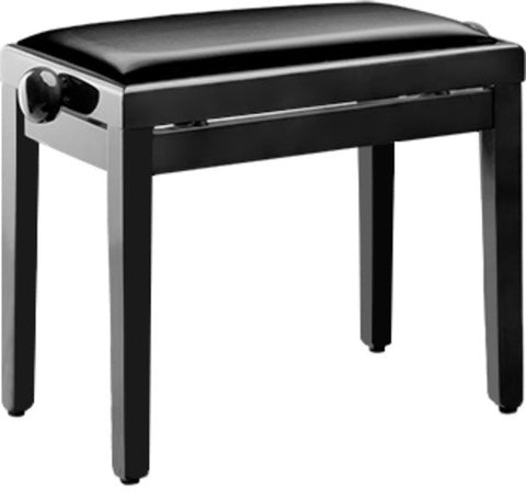 Stagg PBF 39 Rise and Fall Stool, Polished Black -  - ROSE MORRIS - Piano Essentials