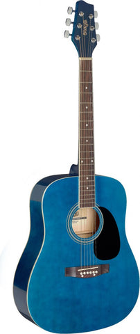 Stagg SA20D Acoustic Guitar, Blue