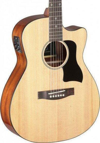 James Neligan BES-ACE Electro Acoustic Guitar, Natural - body