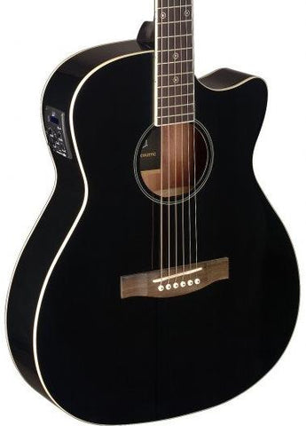 James Neligan BES-ACE Electro Acoustic Guitar, Black