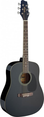 Stagg SA20D Acoustic Guitar, Black