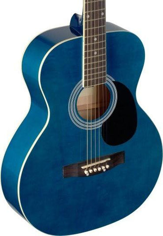 Stagg SA20A Acoustic Guitar Blue